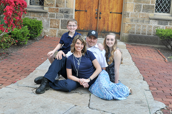Officer Greely and his family