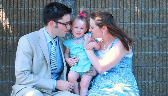 Jamie Flack and Family