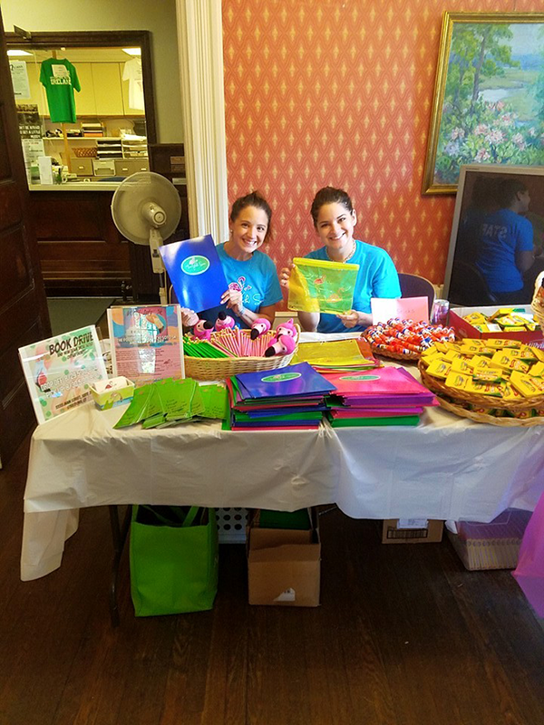 Vicki Soto school supply drive