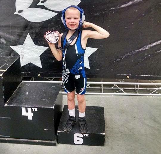 Karter Scheele Wrestling